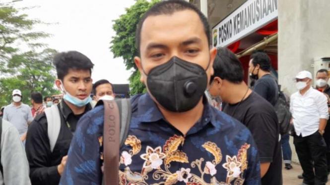 Kuasa Hukum Habib Rizieq Shihab Aziz Yanuar di Pengadilan Negeri Jakarta Timur.