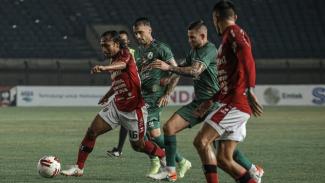 Duel PSS Sleman Vs Bali United di perempatfinal Piala Menpora
