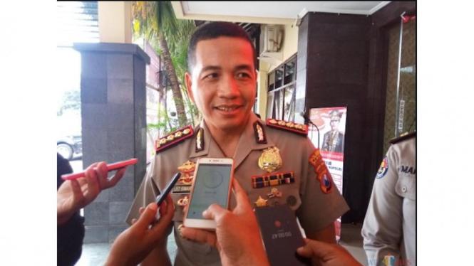 Foto : Kapolresta Malang Kota, Kombes Leonardus Simarmata