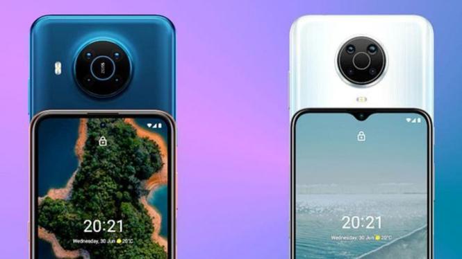 Nokia X20 dan X10.