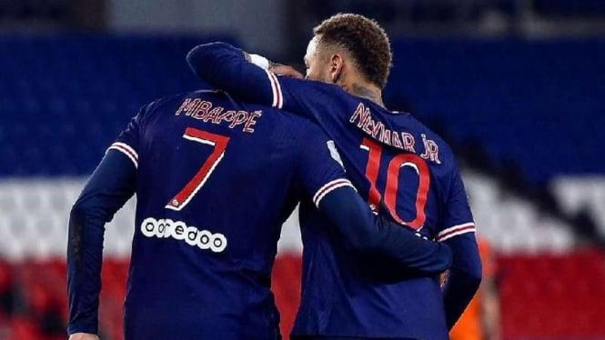 Kylian Mbappe dan Neymar