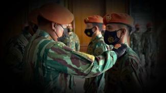 VIVA Militer: Sertijab Dandenma Korpaskhas TNI AU.