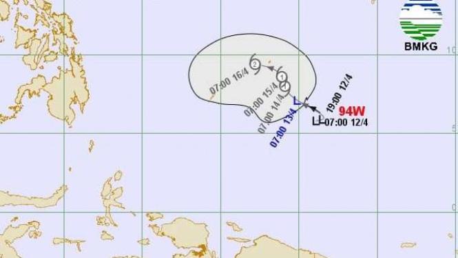 Bibit siklon tropis 94W