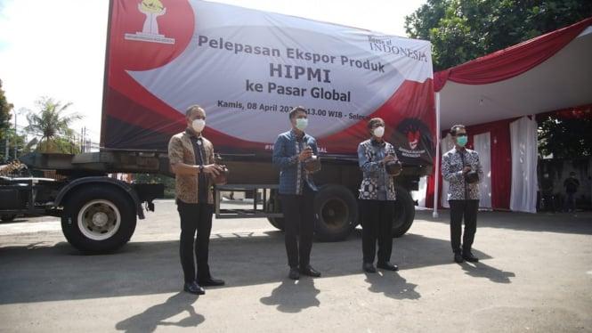 Ekspor perdana produk UMKM Hipmi