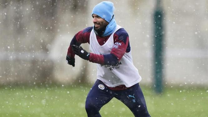 Bomber Manchester City, Sergio Aguero