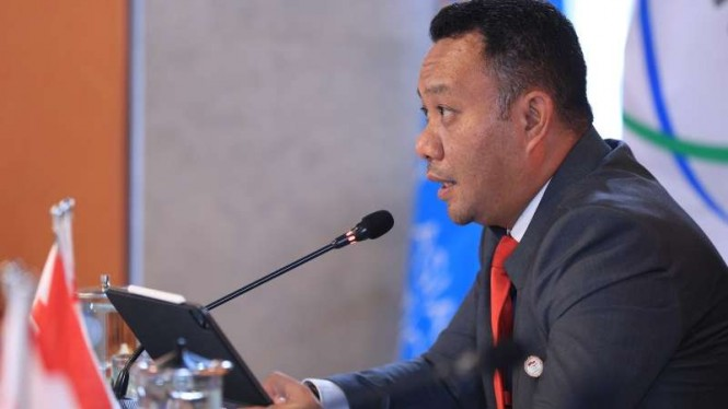 Sekretaris Jenderal NOC Indonesia Ferry J Kono