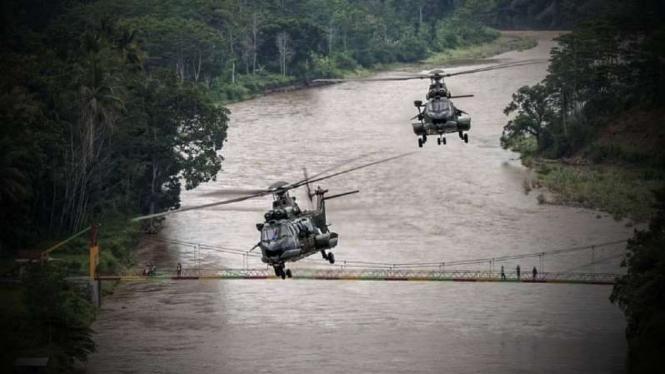 VIVA Militer: Helikopter Caracal TNI AU.