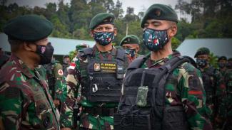 VIVA Militer: Batalyon Infanteri (Yonif) Raider 613/Raja Alam