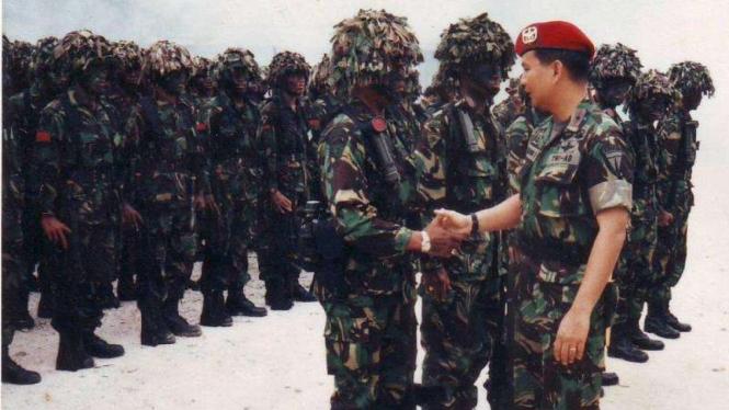 VIVA Militer: H. Prabowo Subianto saat menjabat Wadanjen Kopassus