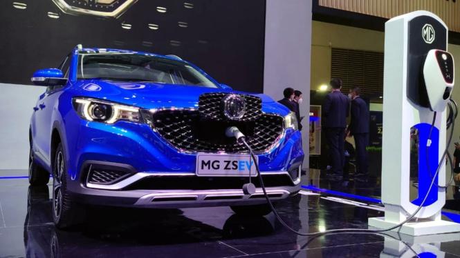 Mobil MG ZS EV