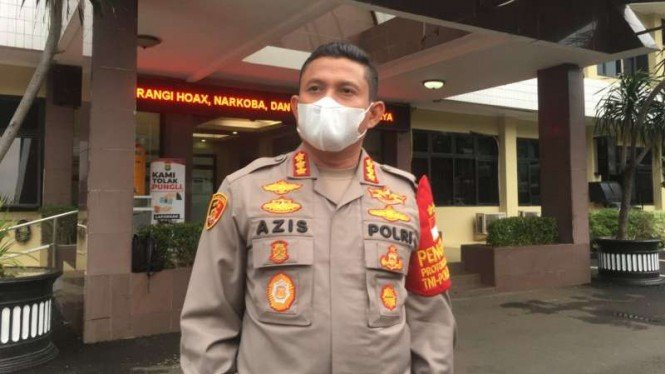 Kapolres Metro Jakarta Selatan Kombes Pol Azis Andriansyah