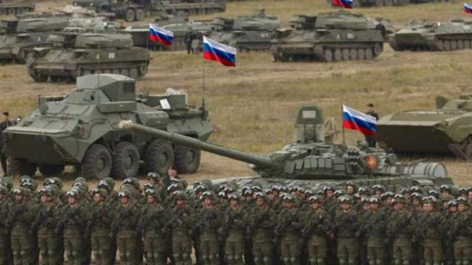 VIVA Militer: Personel Angkatan Bersenjata Federasi Rusia di perbatasan Ukraina