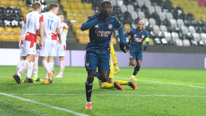 Penyerang Arsenal, Nicolas Pepe