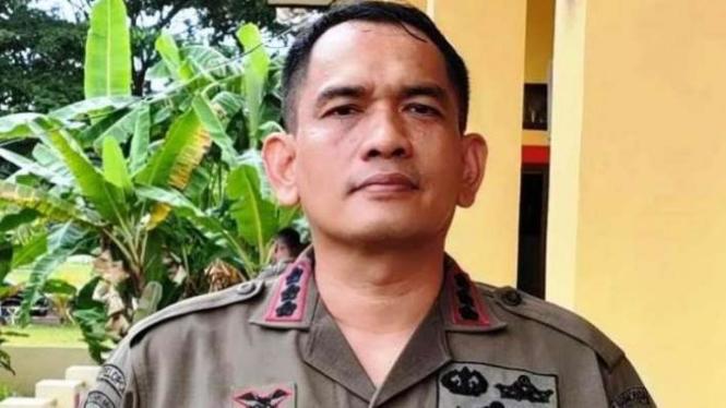 Kasatgas Humas Ops Nemangkawi Polri Kombes Pol Iqbal Al Qudusy SH,S.Ik.