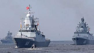 VIVA Militer: Armada kapal perang Angkatan Laut Rusia (VMF)
