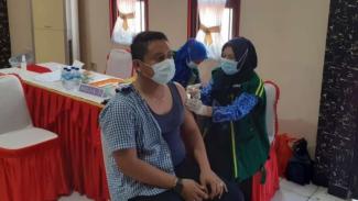Vaksinasi COVID-19 di Kabupaten Tangerang.