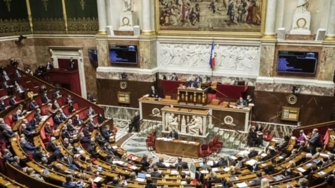 Ilustrasi parlemen Prancis