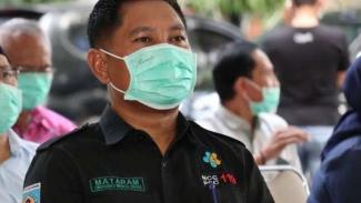 Direktur RSUD Provinsi NTB Lalu Herman Mahaputra