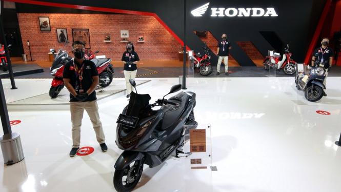 Booth Astra Honda Motor di IIMS 2021