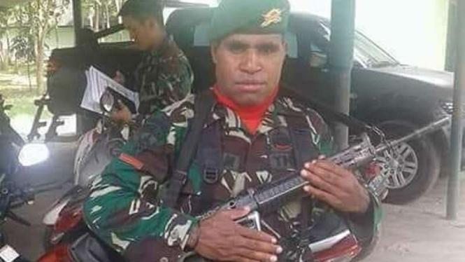 VIVA Militer: Pratu Lucky Matuan, prajurit TNI yang membelot jadi OPM