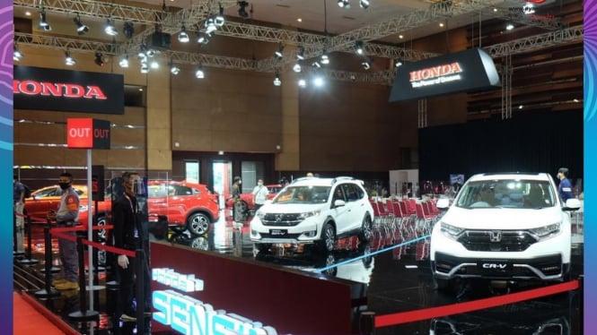 Booth Honda di IIMS 2021