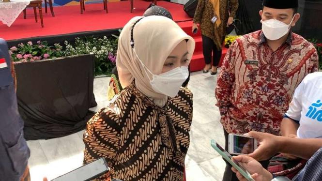 Istri Gubernur Jawa Barat Ridwan Kamil, Atalia Praratya.