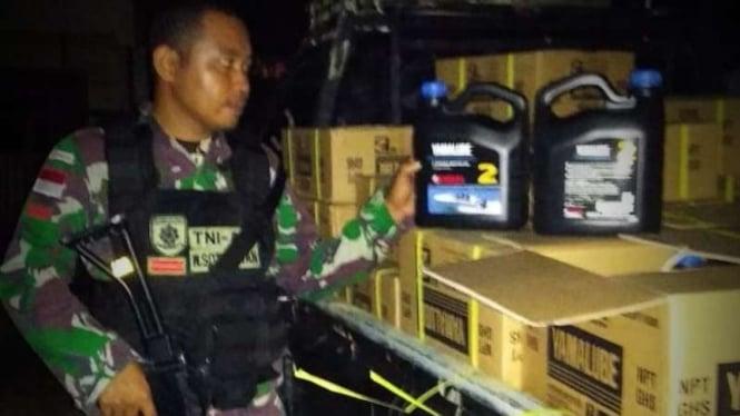 VIVA Militer: Prajurit Yonarhanud 16/SBC sikat mafia minyak Malaysia.