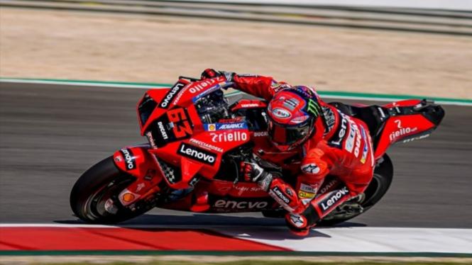 Pembalap Ducati, Francesco Bagnaia.