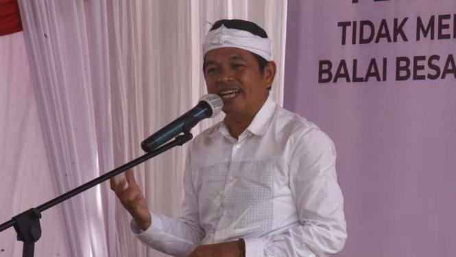 Anggota DPR RI dari Fraksi Golkar, Dedi Mulyadi.