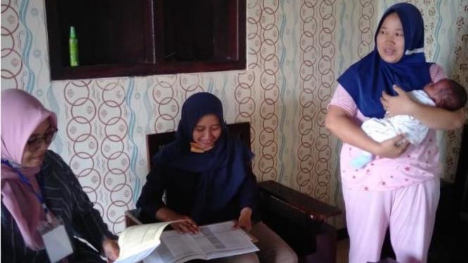 Pencacahan Susenas di Kabupaten Pringsewu, Lampung