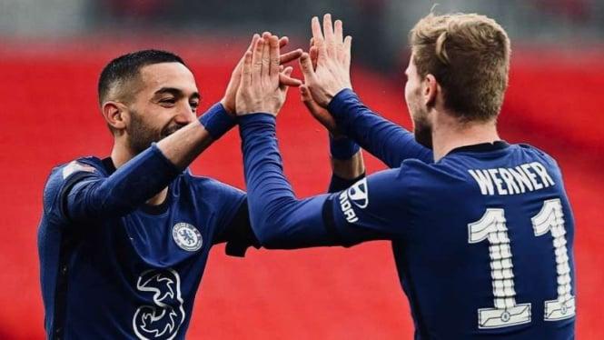 Chelsea kalahkan Manchester City di semifinal Piala FA