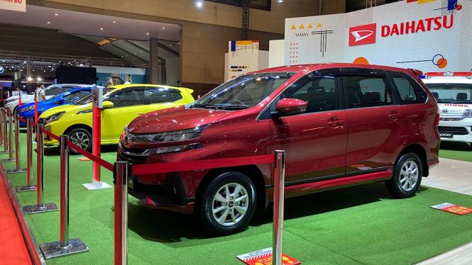 Booth Daihatsu di IIMS 2021