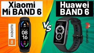 Huawei Band 6 vs Xiaomi Mi Band 6.