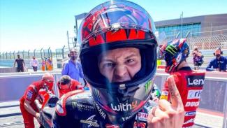Pembalap Monster Energy Yamaha, Fabio Quartararo.