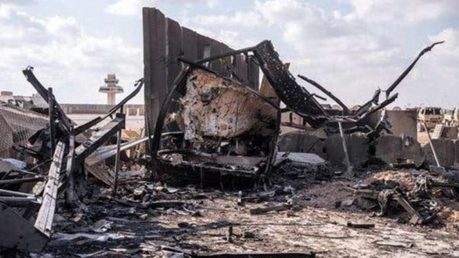 VIVA Militer: Pangkalan militer Amerika Serikat di Irak terkena serangan roket