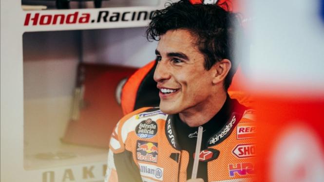 Pembalap Repsol Honda, Marc Marquez.