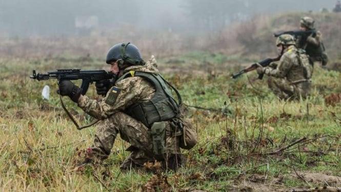 VIVA Militer: Tentara Angkatan Bersenjata Ukraina