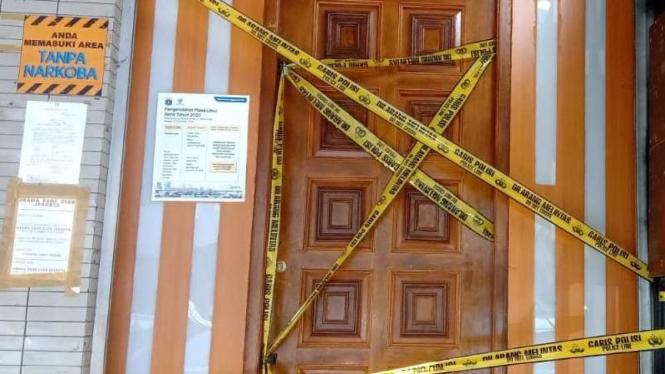 Lokasi pembunuhan anggota Brimob di kafe di Melawai, Kebayoran Baru