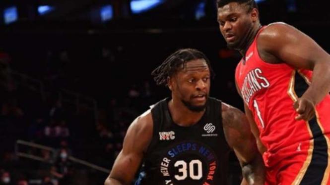 Pemain New York Knicks, Julius Randle.