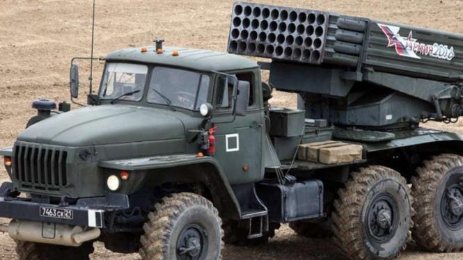 VIVA Militer: Peluncur roket Katyusha buatan Uni Soviet (Rusia)