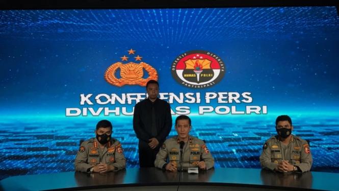 Kepala Biro Penerangan Masyarakat Divisi Humas Polri, Brigjen Rusdi Hartono