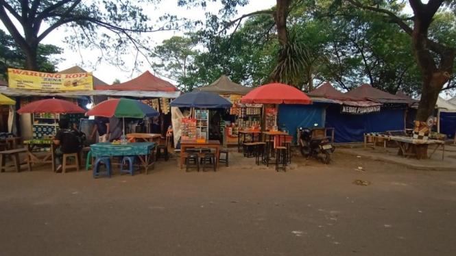 Pedagang Kota Serang.