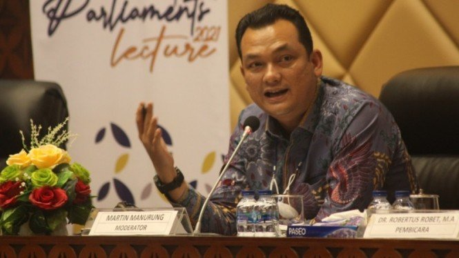 Wakil Ketua Komisi VI DPR RI Martin Manurung.