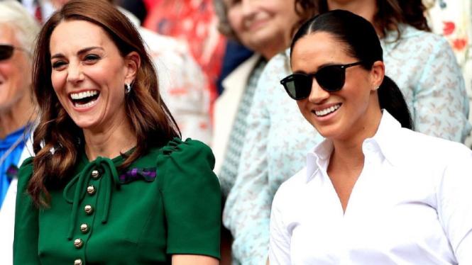 Kate Middleton dan Meghan Markle.