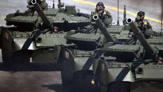 VIVA Militer: Tank T-72 Angkatan Bersenjata Belarus