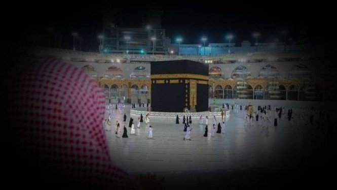 VIVA Militer: Kabah di Masjidil Haram, Mekah.