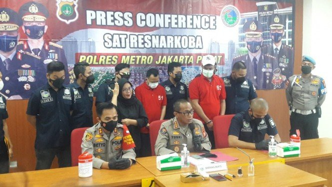 Rio Reifan kembali ditangkap karena kasus narkoba
