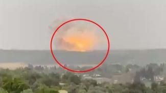 VIVA Militer: Ledakan dahsyat pabrik rudal rahasia Israel.