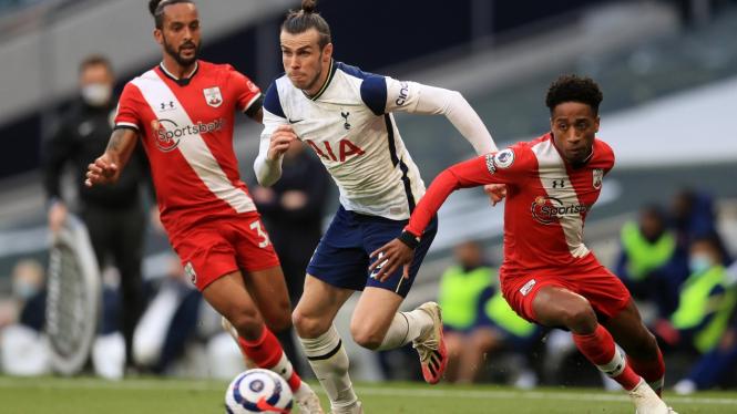 Winger Tottenham Hotspur, Gareth Bale vs Southampton