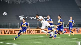Alex Sandro cetak dua gol di laga Juventus Vs Parma